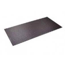 Supermats Heavy Duty P.V.C. Mat for Cardio- Fitness Products (2.5-Feet x 5-Feet)