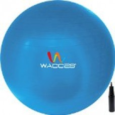 Fitness and Exercise Ball (Blue, 65 cm)