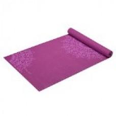 Gaiam Print Yoga Mat, Purple Medallion, 3mm