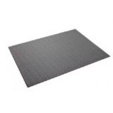 Supermats Heavy Duty P.V.C. Mat for Cardio-Fitness Products (2.5-Feet x 5-Feet) - Gray